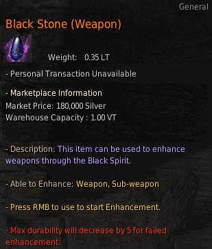 BDO Black Stone (Weapon)