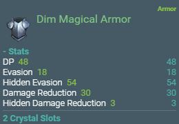 BDO Dim Magical Armor