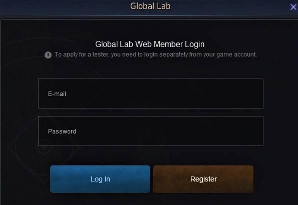 BDO Global Lab Test Server Live Server Log in