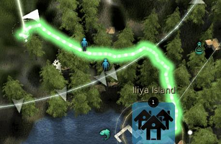 Griffon NPC Location Map: West of Iliya Entrance