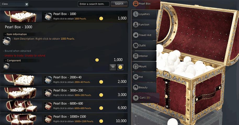 BDO Pearl Box Prices