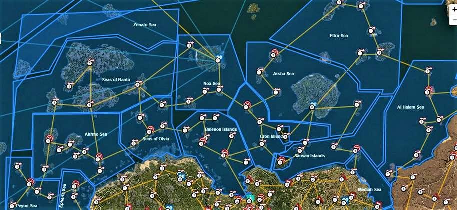 BDO Sea Regions