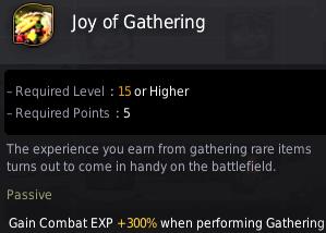 Shai Gathering Skill