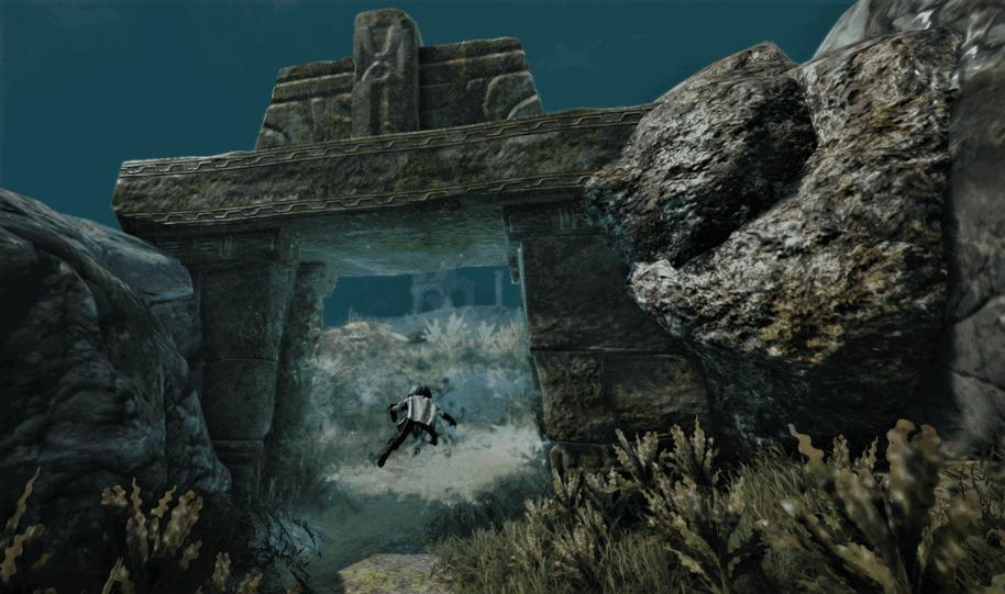 Sycraia Underwater Ruins: Entrance Gateway