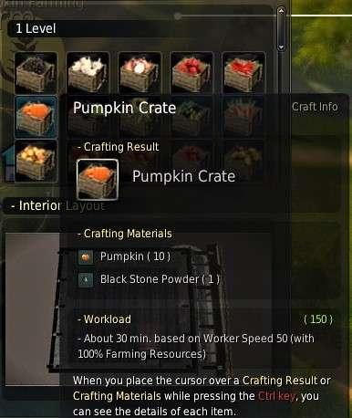 BDO Trading Pumpkin Crates