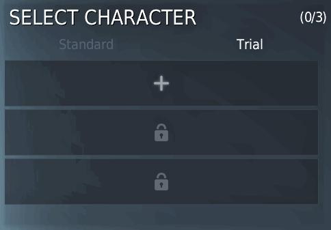 BDO Trial Character
