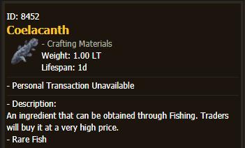 BDO Coelacanth