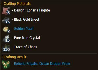 Epheria Frigate: Ocean Dragon Prow