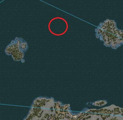 Underwater gathering locations North of Kuit Islands