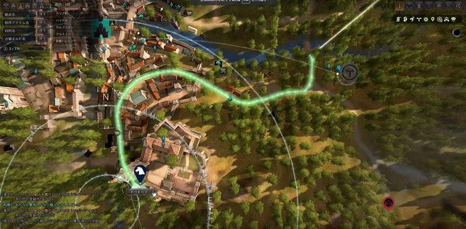 BDO Horse Leveling Route Map Calpheon
