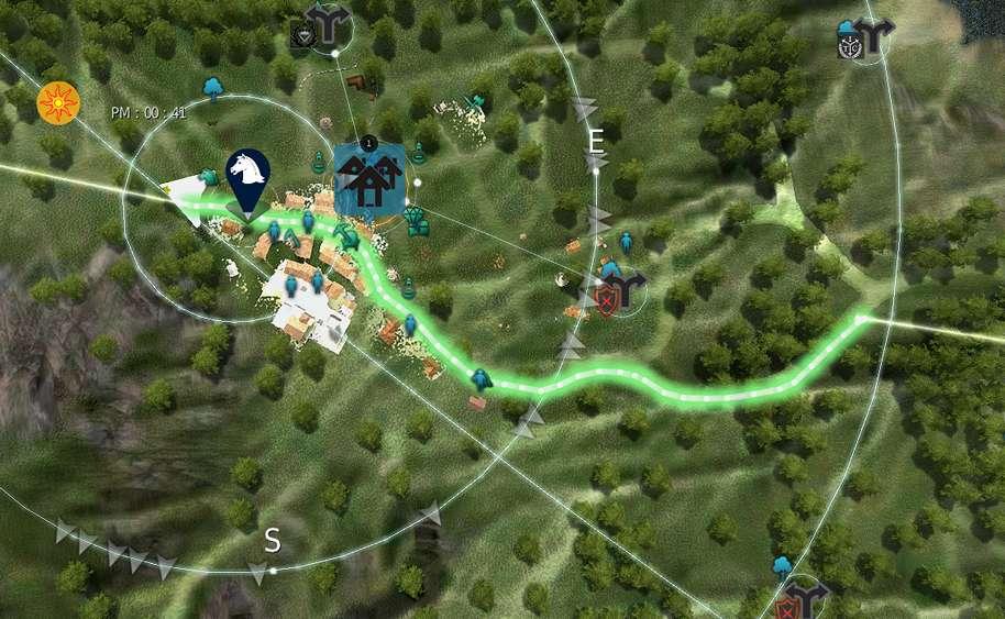 BDO Horse Leveling Route Map Olvia