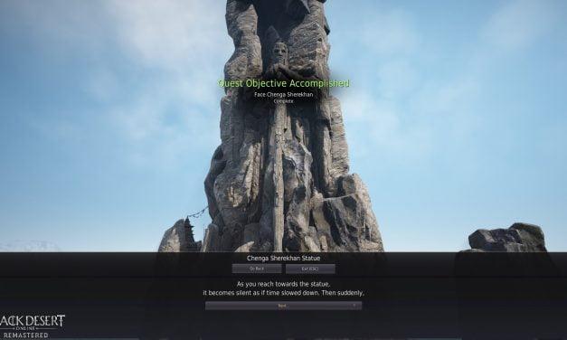 BDO Chenga Tome Questline (Black Desert Online)