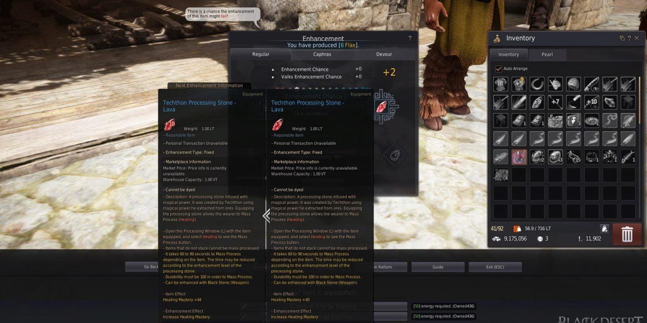 BDO Life Mastery Enhancement