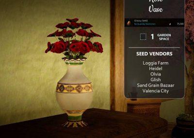 BDO Rose Vase from Farming Seeds