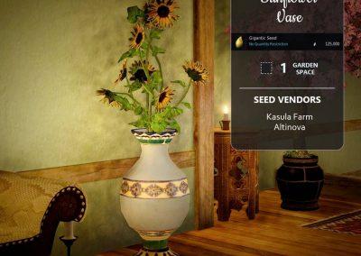 BDO Sunflower Vase from Farming Seeds