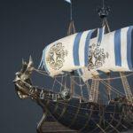 BDO Benelois Ship Parts Set: Pearl Gear/Costume
