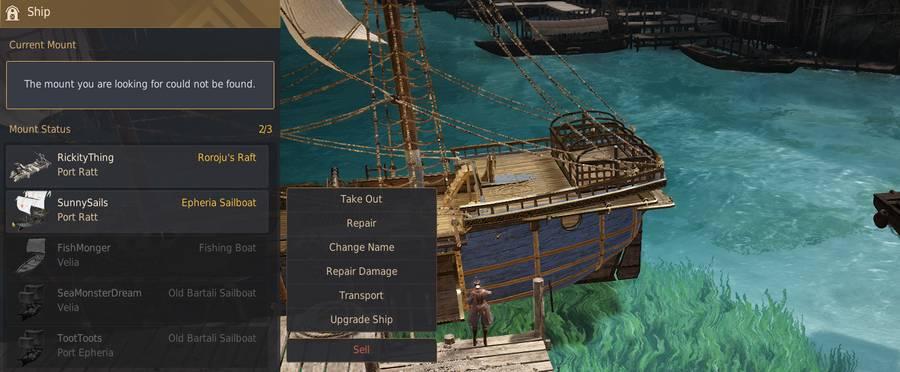 Beginner Sailing Guide: Ship Rations, Durability, Repair & UI