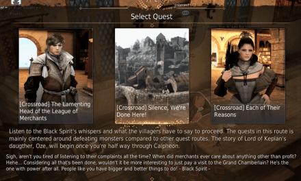 BDO Crossroad Quest Line II: Silence We're Done Here (Black Desert Online 2019)