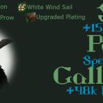 BDO Epheria Galleass Ship Parts (Green Grade) Design, Materials, Enhancement