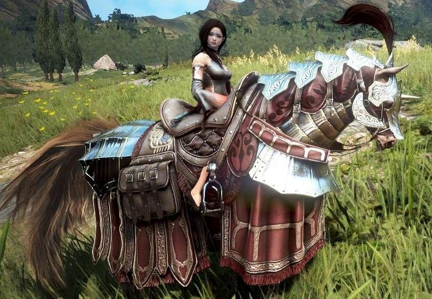 Krogdalo's Horse Gear (Black Desert Online)