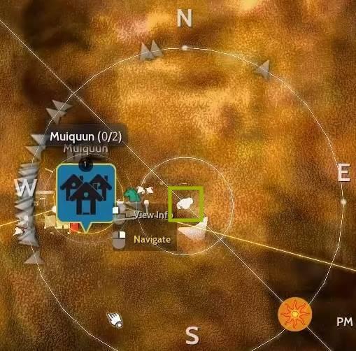 BDO Caphras Journal: Luthraghon Location Map