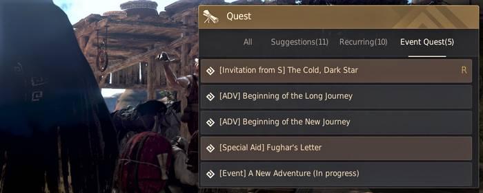 BDO Narchillan Gear Quest
