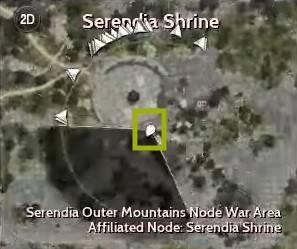 BDO Caphras Journal: Orwen Location Map