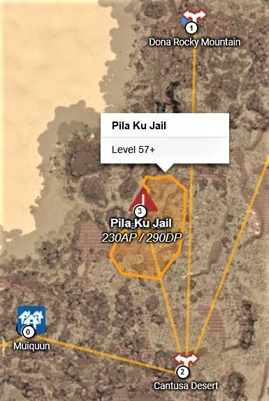 BDO Pila Ku Jail Grinding Spot