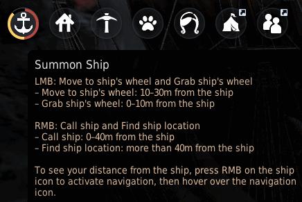 BDO Sailing Ship Anchor UI