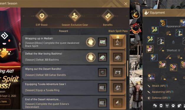 BDO Season Servers: Beginner Gear & Fast Leveling