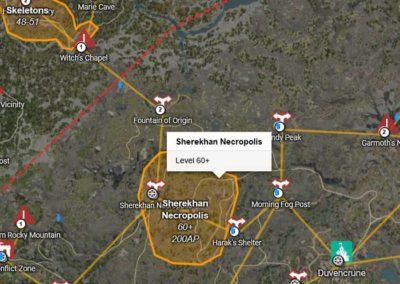 BDO Sherekhan Map