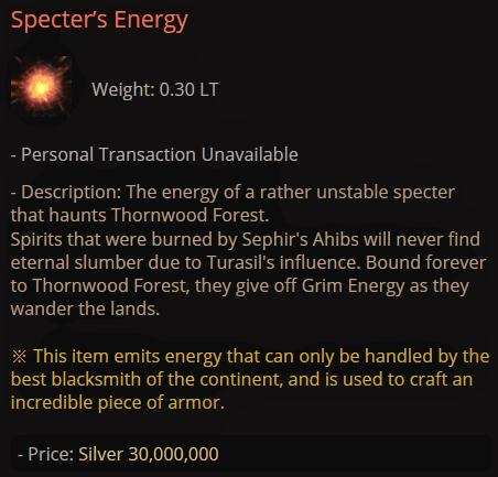 BDO Specter's Energy