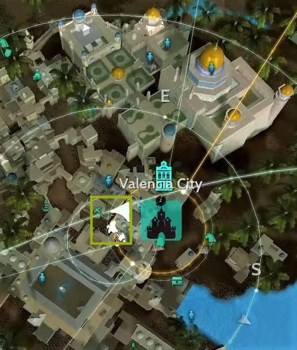 BDO Zahad Location Map