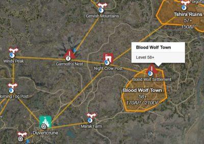 BDO Blood Wolf Settlement Map