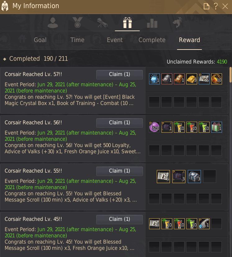 Corsair Challenge Reward
