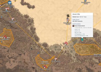 crescent shrine map