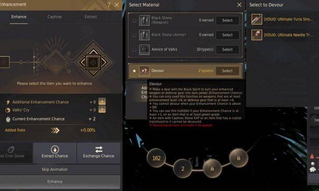BDO Devour: Destroy Gear For Failstacks