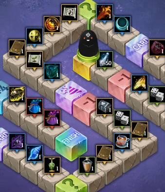 BDO Black Spirit's Adventure Dice & Board Game