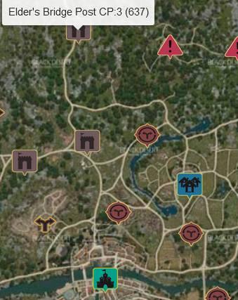 Elder's Bridge Map