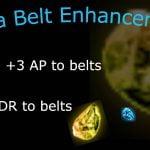 Elvia Cup Enhancement for Belt AP & DR Upgrade