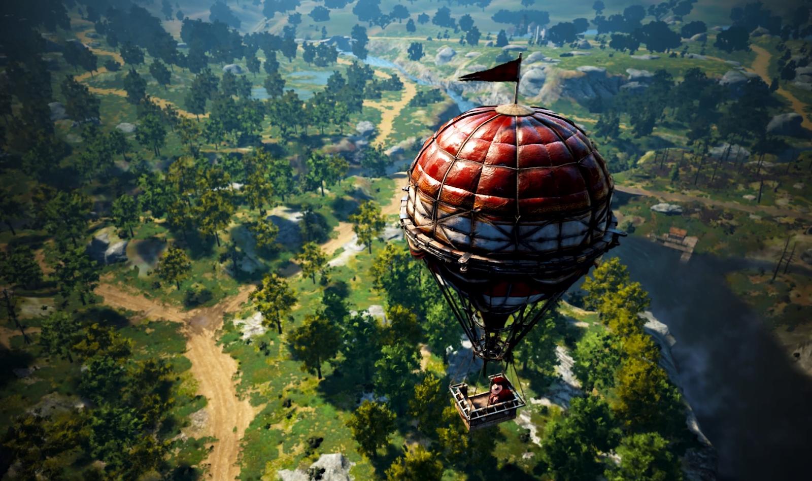 NPC Travel via Balloon