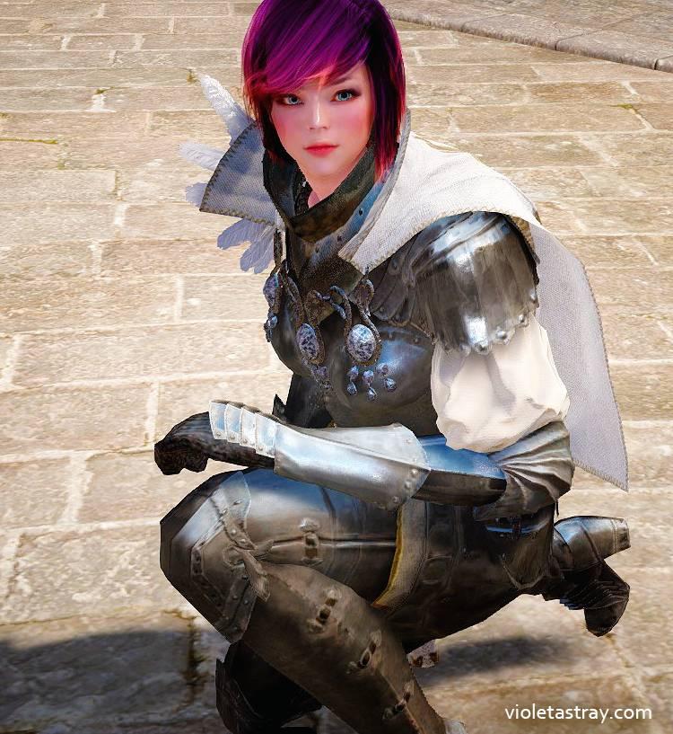BDO Craftable Costume: Delphe Knight Armor