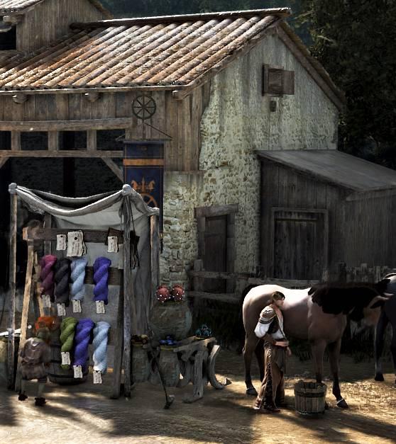 BDO Horse Breeding Stable in Velia