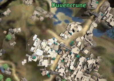 imperial crafting npc duvencrune