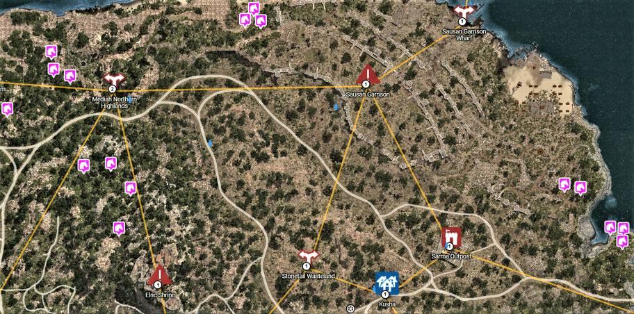 BDO Horse Locations Near Kusha