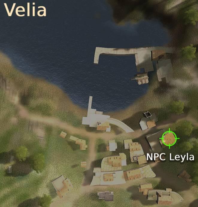 Season Graduation: Leyla Location Map