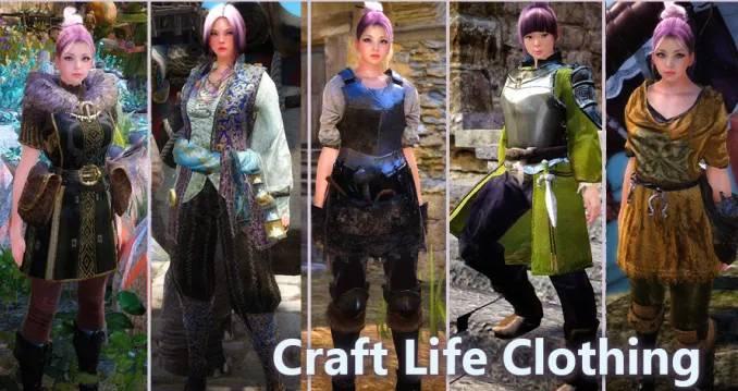 BDO Life Skill Clothes: Crafting Costumes