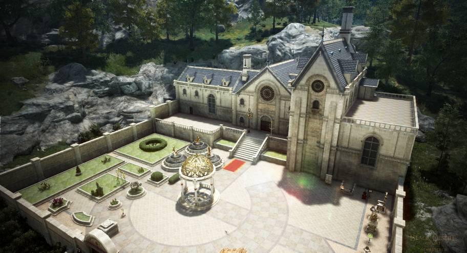 BDO Mansion Exterior Courtyard