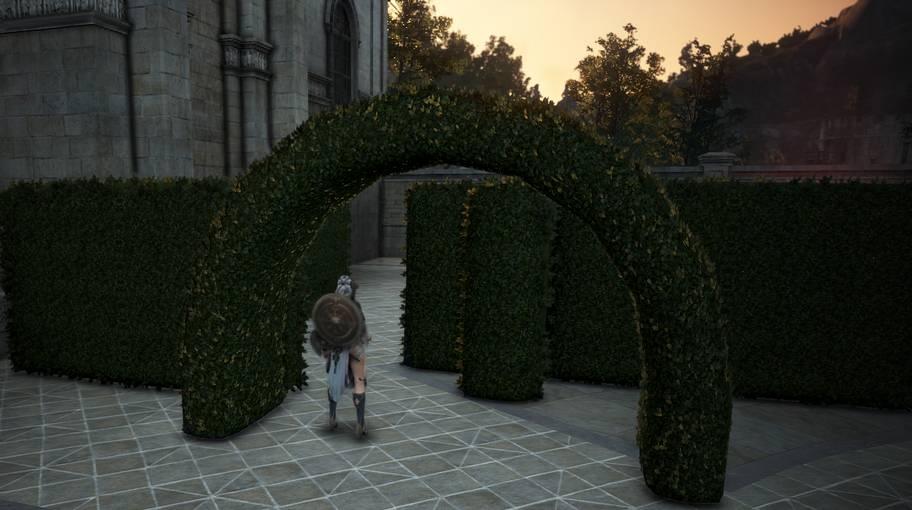 Mansion Hedge Maze