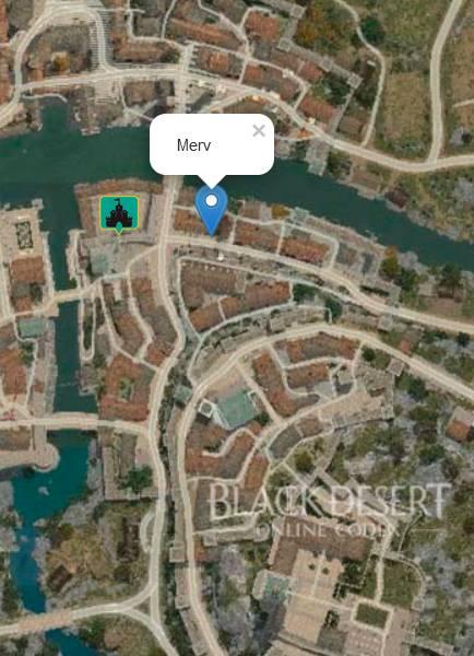 Merv Location Map
